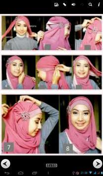 100 modern hijab tutorial apk screenshot