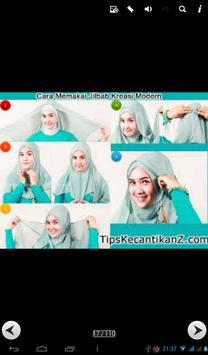 100 modern hijab tutorial poster