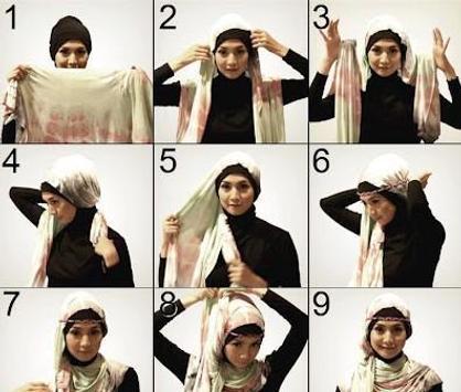 Tutorial hijab apk screenshot