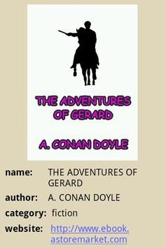 THE ADVENTURES OF GERARD poster