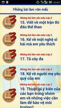Nhung Bai Lam Van Mau Cap 1 apk screenshot
