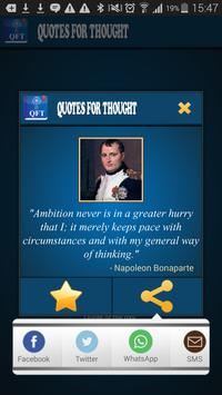 Quotes For Thought apk screenshot