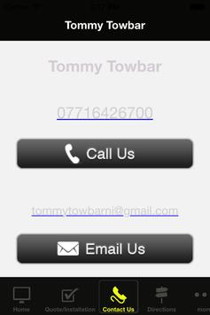 Tommy Towbar poster