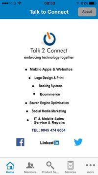 Talk to Connect CRM poster