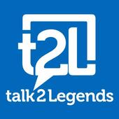 talk2Legends, t2L icon