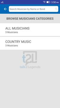 talk2Legends, t2L apk screenshot