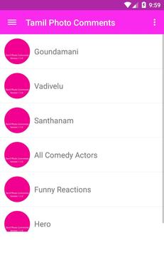 Tamil Funny Photo Comments poster