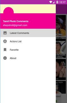 Tamil Funny Photo Comments apk screenshot