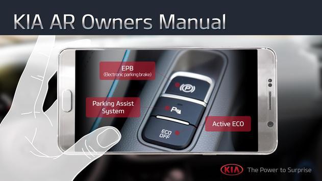 KIA AR Owner's Manual poster