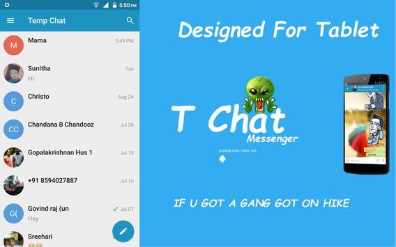 TChat-Meet People & Chat apk screenshot