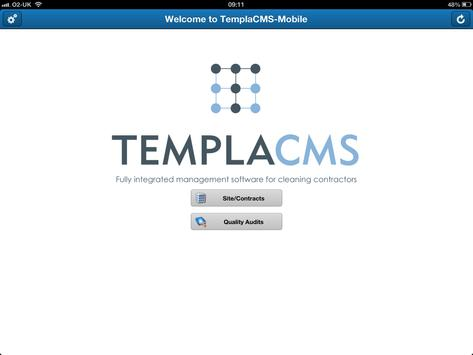 TemplaCMS Mobile poster