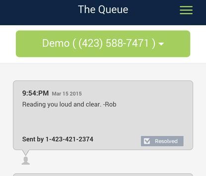 Text Request Free apk screenshot