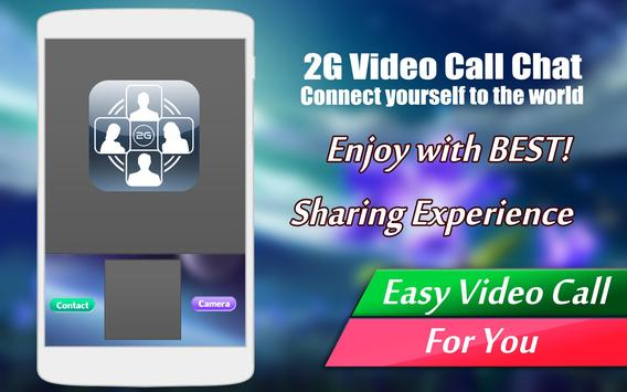 2G Video Call Chat poster