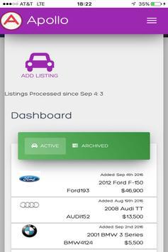 Apollo: Automotive SaaS apk screenshot