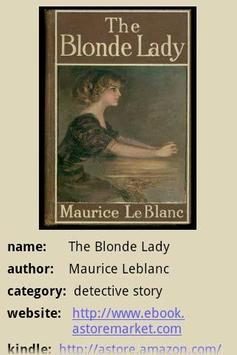 The Blonde Lady poster