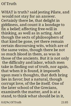 The Essays of Francis Bacon apk screenshot