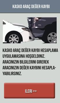 Araç Değer Kaybı Hesaplama poster