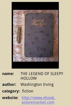 THE LEGEND OF SLEEPY HOLLOW poster