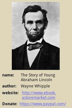 Young Abraham Lincoln poster