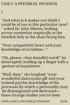 Three John Silence Stories apk screenshot