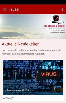 Steinberger & Berger poster