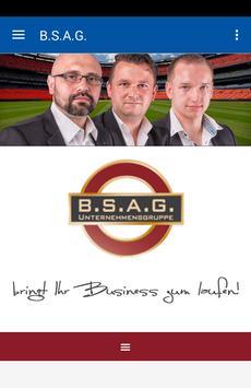 B.S.A.G. GmbH poster