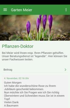 Garten-Center Meier poster