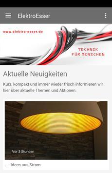 Elektro Esser GmbH poster
