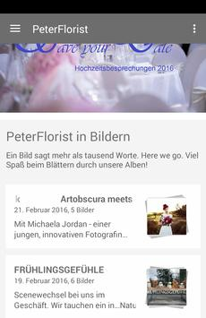 Peter's Floristik poster