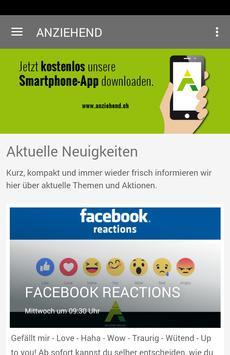 ANZIEHEND GmbH poster