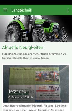 Landtechnik Michael Grüß poster