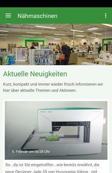 Nähmaschinen Haupt poster
