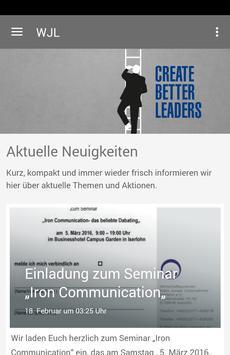 WJ Lüdenscheid e.V. poster