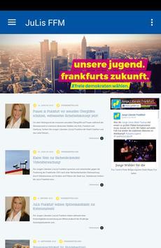 Julis Frankfurt poster