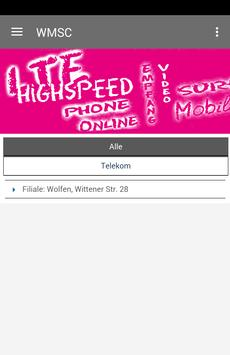 Wolfner Mobilfunk & SC poster