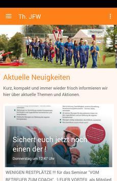 Thüringer Jugendfeuerwehr poster