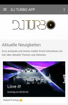 DJ TURBO poster