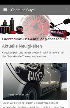 Chemical Guys Nordhorn poster