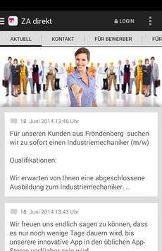 ZA direkt GmbH poster