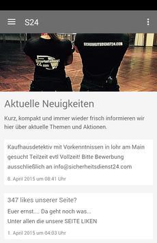 Sicherheitsdienst 24 GmbH poster