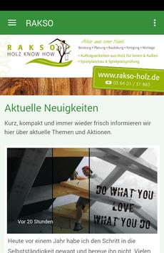 Rakso - Holz Know How poster