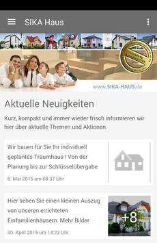 SIKA Massivhaus GmbH poster