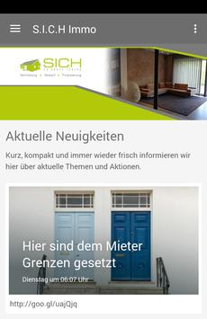 S.I.C.H. Immobilienmanagement poster