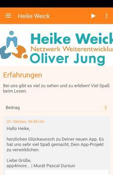 Heike Weick poster