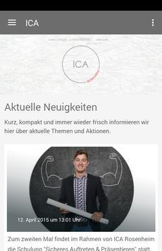 ICA Rosenheim poster