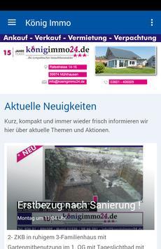 König Immo poster