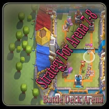 TOP Battle Deck Clash Royale poster