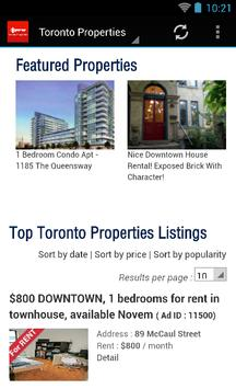 Toronto Properties apk screenshot
