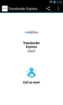 Transborder Express poster