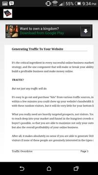 Get Traffic To Your Website apk screenshot